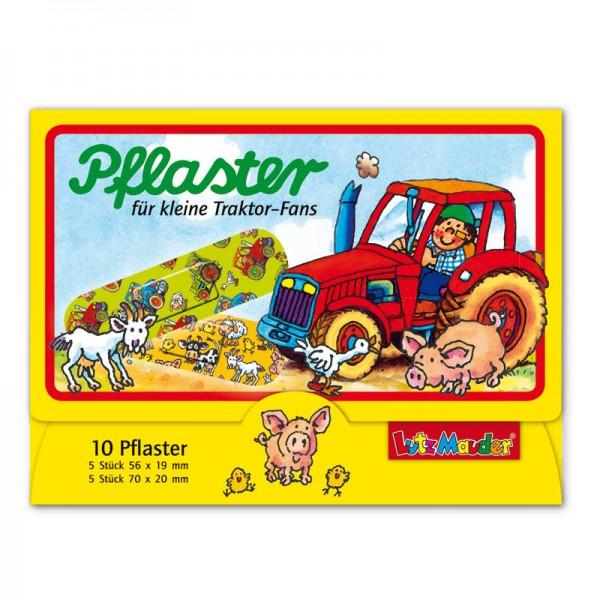 Kinderpflaster für kleine Traktorfans - Lutz Mauder Verlag (2x5 Stück)