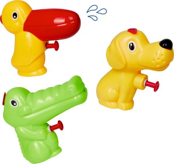 Tierisch spritzige Wasserpistole (1 Stück - verschiedene Designs)