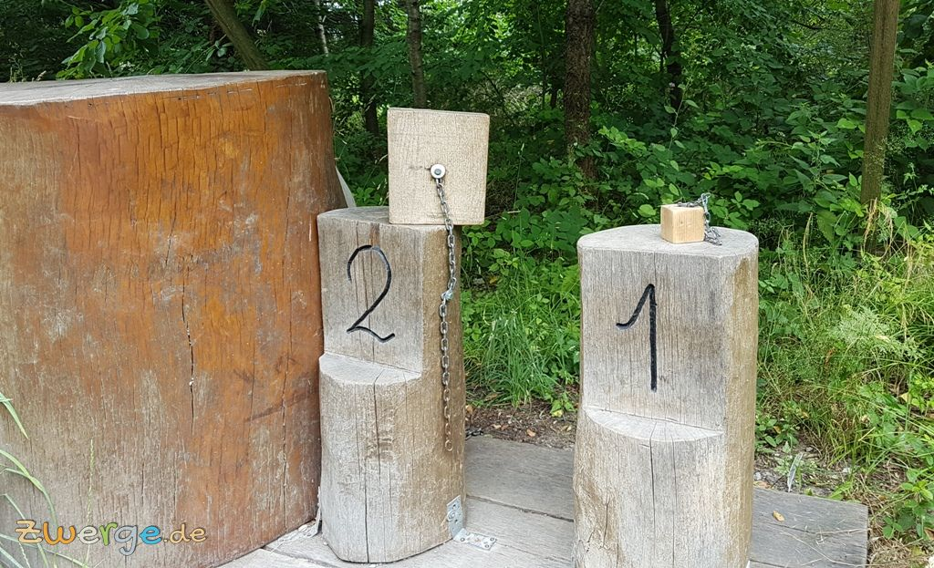 walderlebnispfad Heilbronn - Zuwachswürfel