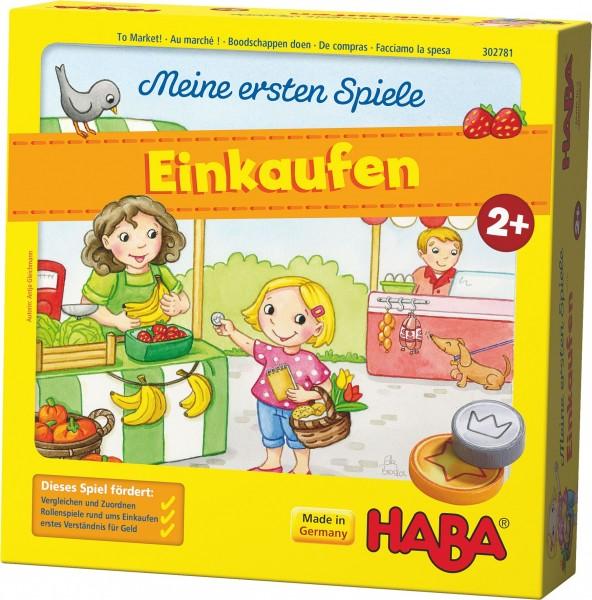 Meine ersten Spiele – Einkaufen HABA 302781