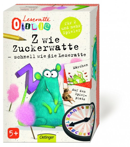 Z wie Zuckerwatte - Leseratte Otilie
