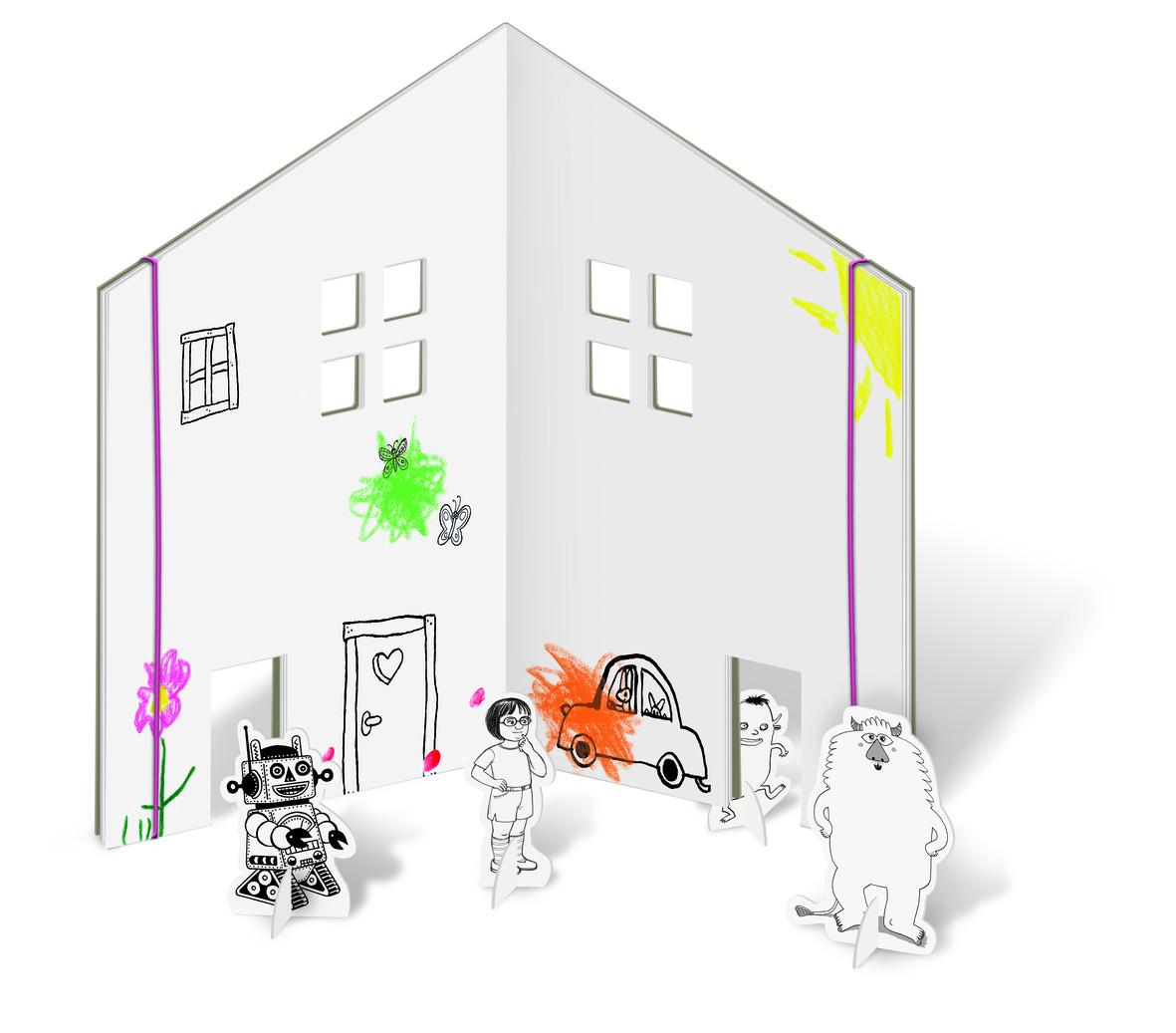Ausgezeichnet Malbuch Haus Bilder - Malvorlagen Von Tieren - ngadi.info
