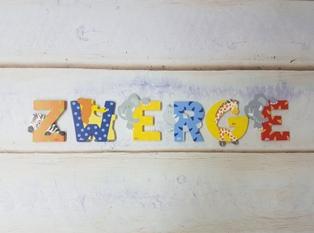 Holzbuchstaben Kinderzimmer von Sevi bei ZWERGE.de online + im Laden ...