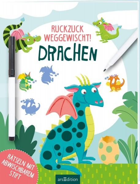 Ruckzuck weggewischt - Drachen (inkl. Stift)