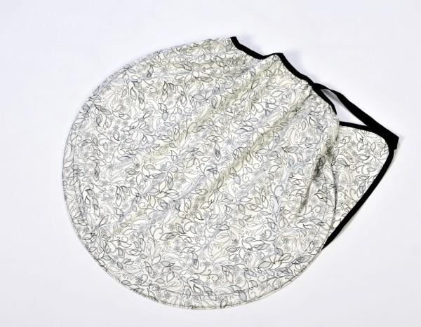 Sonnensegel halbkreisförmig flowers von Naturkind