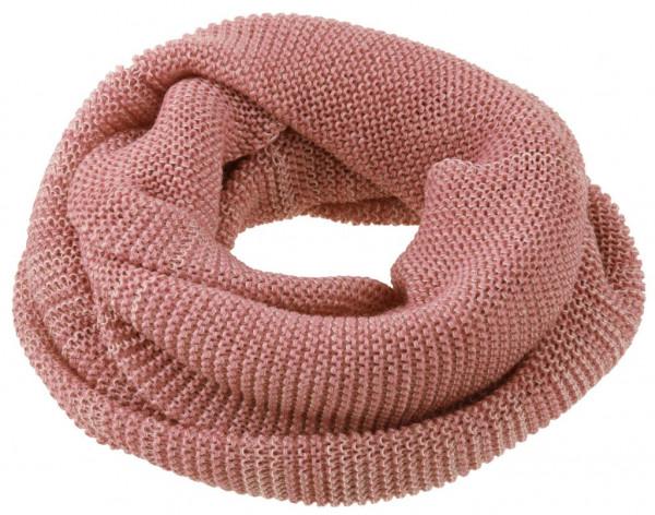 5b540123d9101 Wolle Loop-Schal   Schlauchschal rosé-natur - Disana