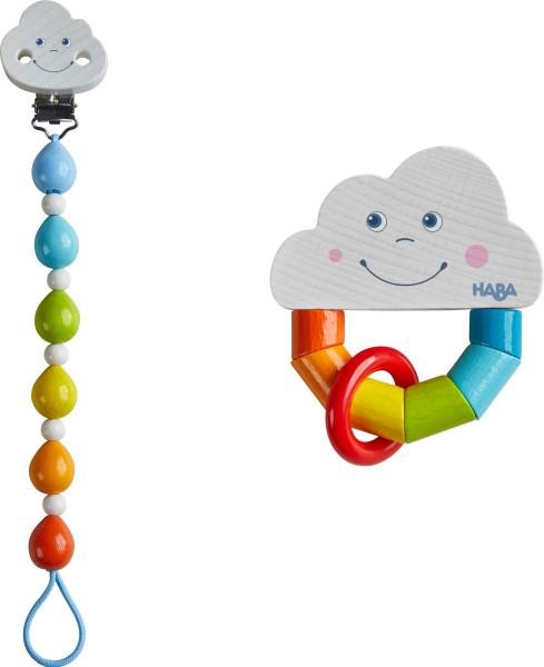 Babygeschenk-Set Regenbogenwelt - Haba