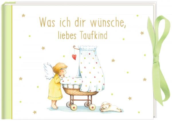 Geldkuvert-Geschenkbuch Was ich dir wünsche, liebes Taufkind