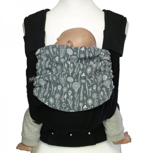 MaMo Babytrage - gepolsterte Schultergurte - Grinsebacke- Gr. 50-86