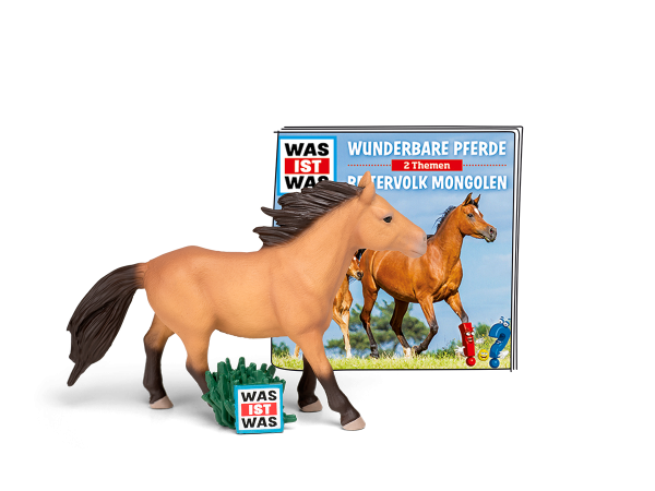 WAS IST WAS - Wunderbare Pferde/Reitervolk Mongolen - Tonies 6+