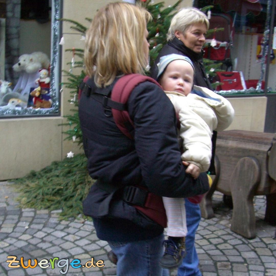 babytrage jackeneinsatz