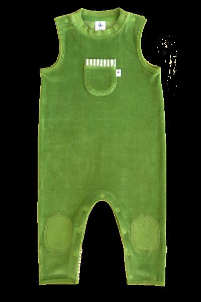 Nickystrampler Weserstrand waldgrün - Leela Cotton