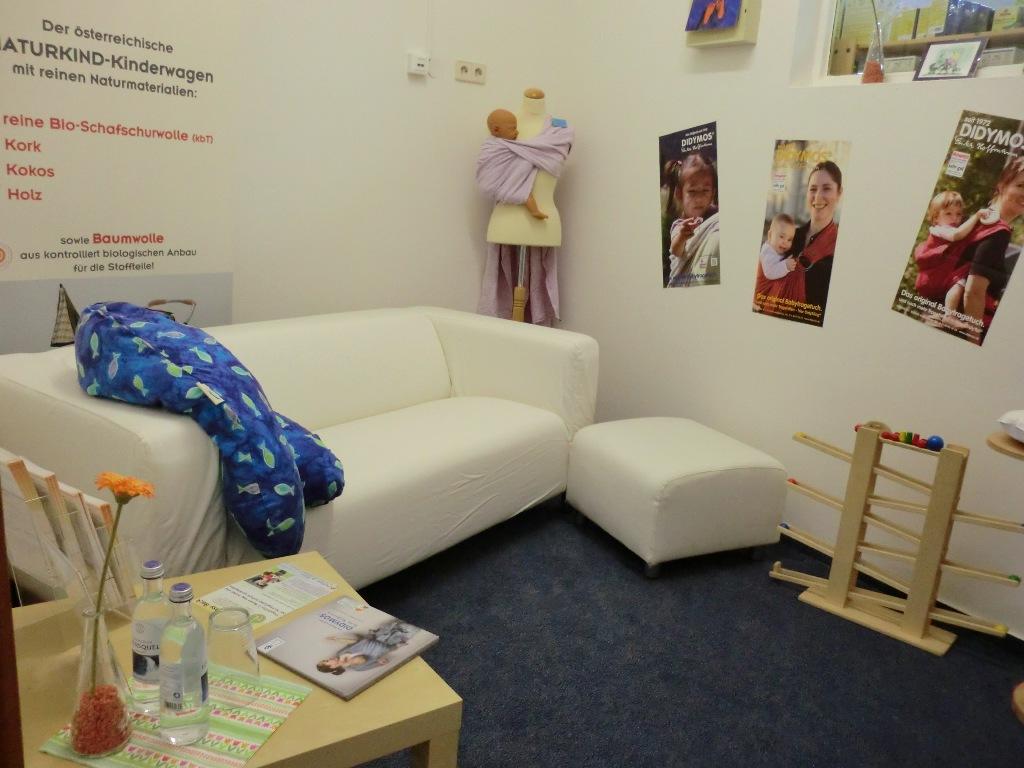 Stillzimmer bei ZWERGE.de im Babyladen