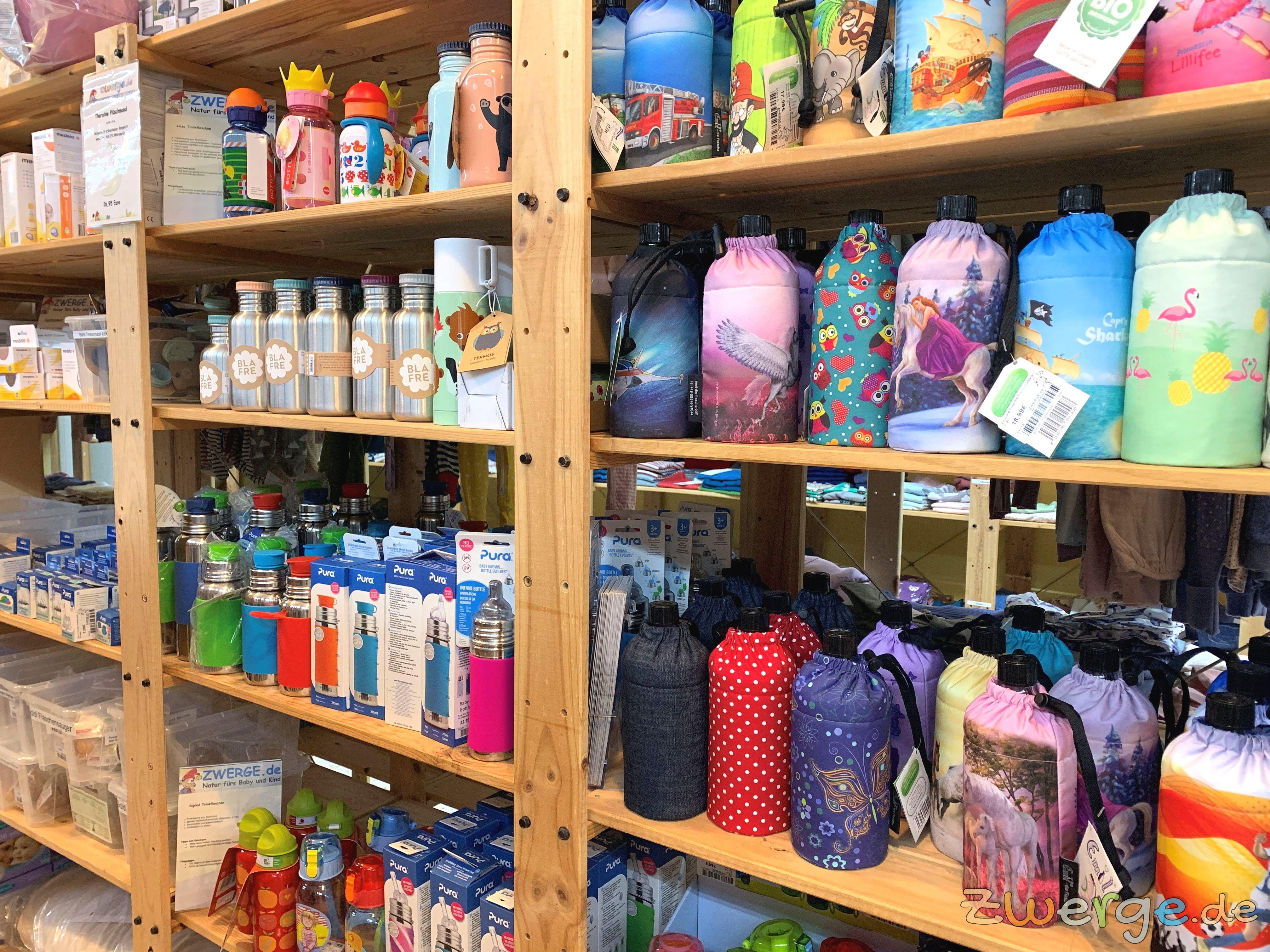 Flaschen für Kinder und Babys bei ZWERGE.de im Babyladen
