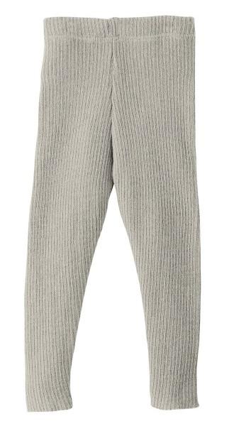 Disana Leggings grau - Wolle gestrickt