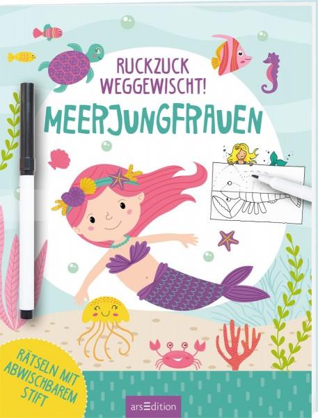 Ruckzuck weggewischt - Meerjungfrauen (inkl. Stift)