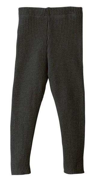 Disana Leggings anthrazit - Wolle gestrickt