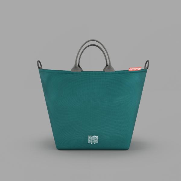 Greentom Shopping Bag M Teal
