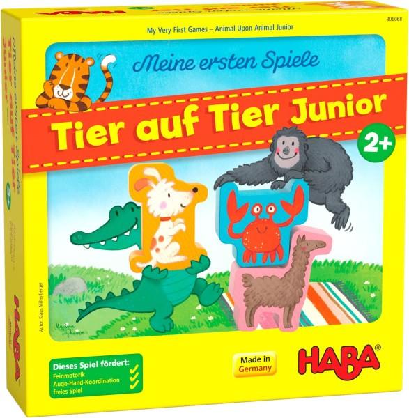 Meine ersten Spiele – Tier auf Tier Junior - Haba 306068