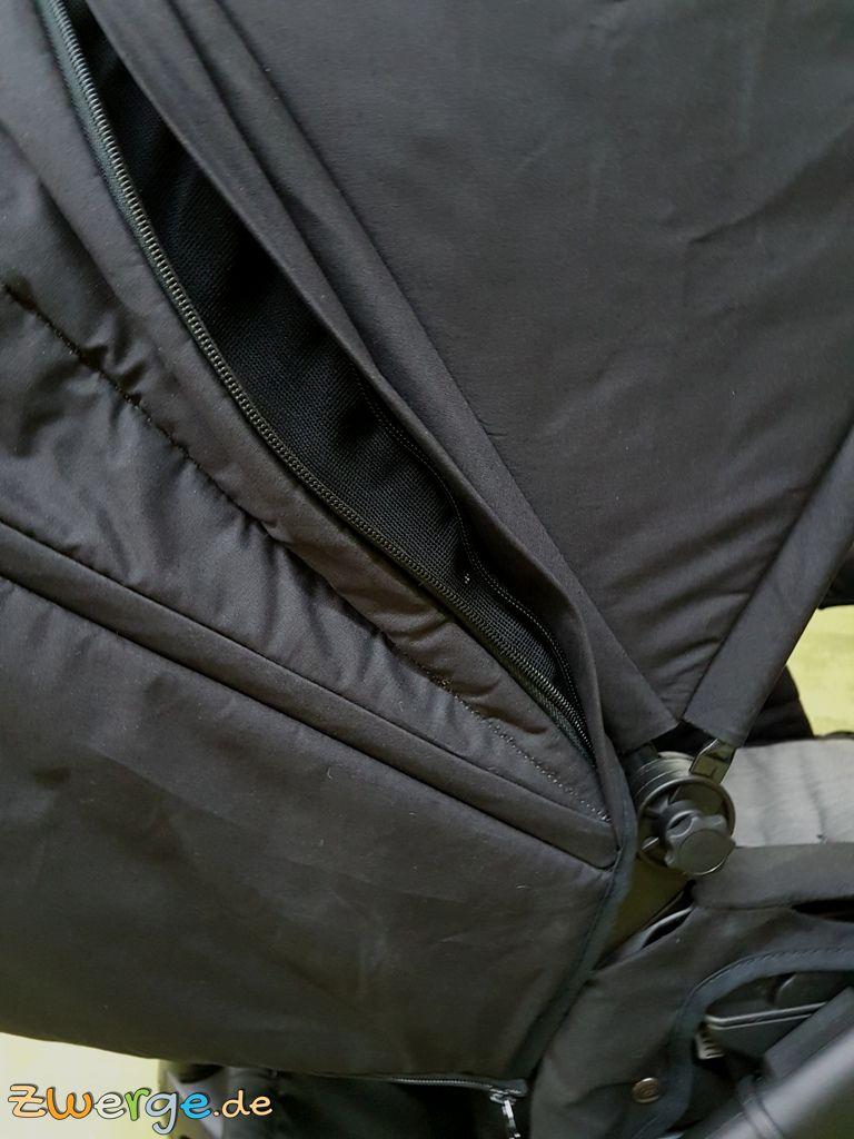 naturkind Lux - Mückennetz am Sportwagen