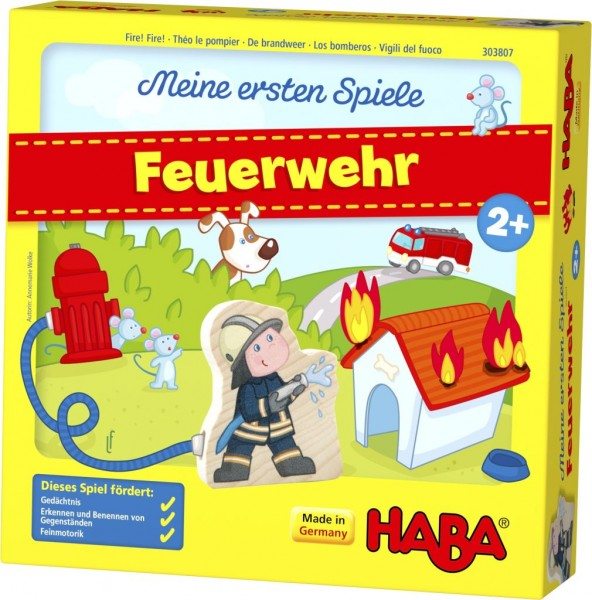 HABA Meine ersten Spiele – Feuerwehr 303807