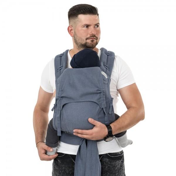 Fidella FlowClick Toddler Chevron Blau