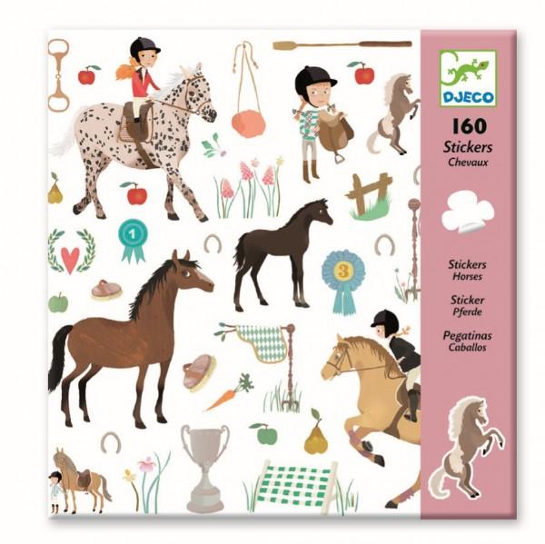Stickers Pferde - DJECO