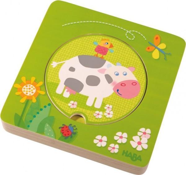 HABA Holz-Puzzle Bauernhof-Freunde 301647