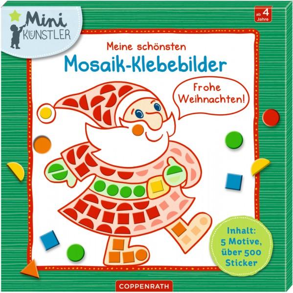 Themen Zu Weihnachten.Meine Schönsten Mosaik Klebebilder Frohe Weihnachten