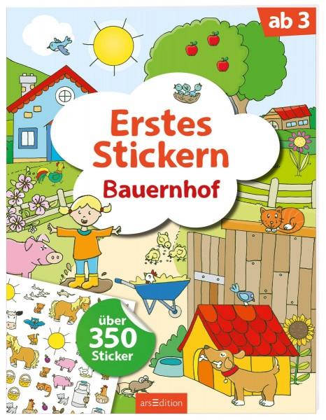 Erstes Stickern - Bauernhof