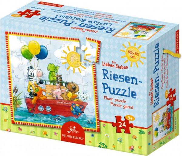 Riesenpuzzle Die lustige Bootsfahrt - 24 Teile Die Lieben Sieben 13084
