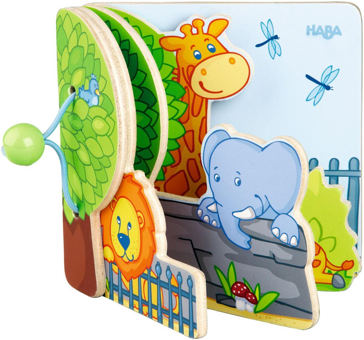 haba babybuch zoofreunde 300129 ab 1 jahr bilderb cher b cher spiel mein. Black Bedroom Furniture Sets. Home Design Ideas