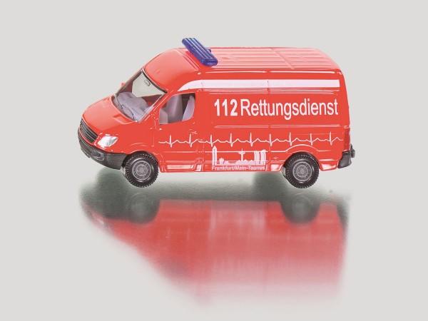 Siku 0805 Krankenwagen / Rettungsdienst