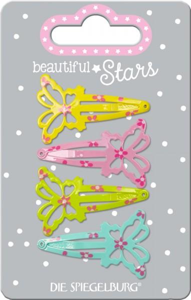 Haarclips Schmetterling beautiful Stars (4 Stück)