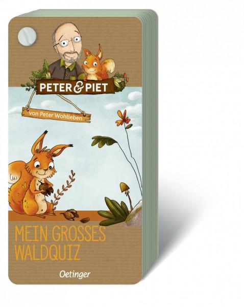 Mein großes Waldquiz - Peter & Piet