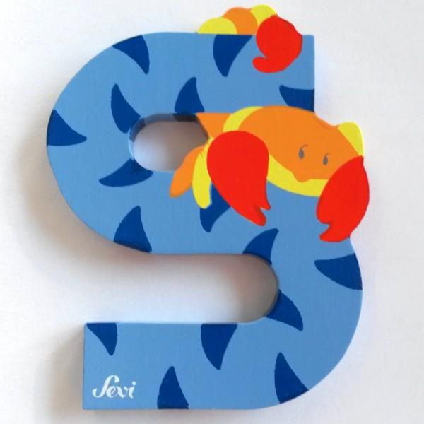 Sevi Tierbuchstabe Skorpion S | Holzbuchstaben Kinderzimmer ...