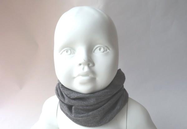 Pickapooh Strunzl Wolle/Seide Schlauchtuch grau