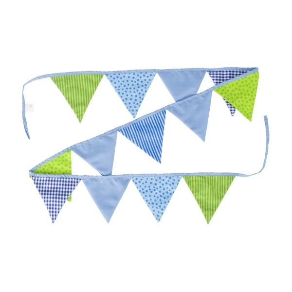 Wimpelkette blau-grün - Goki