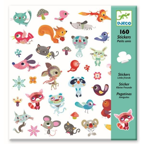 Stickers Kleine Freunde - DJECO