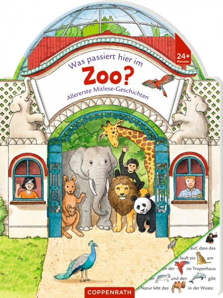 Was passiert hier im Zoo? Allererste Mitlesegeschichten