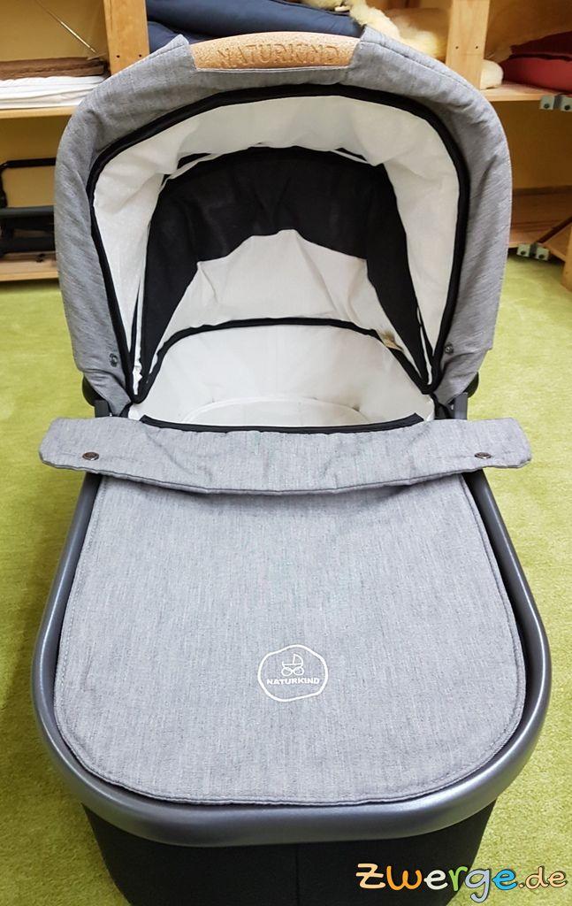 Naturkind Lux - Verdeck Babykorb offen
