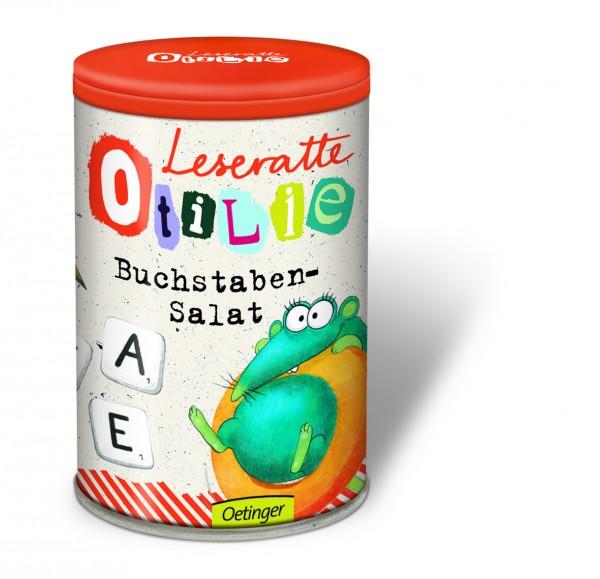 Buchstaben-Salat - Leseratte Otilie