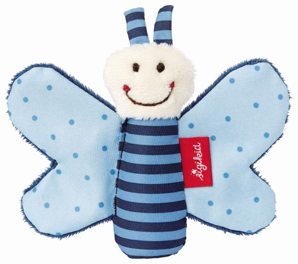 sigikid Greifling Knister-Schmetterling blau 41180