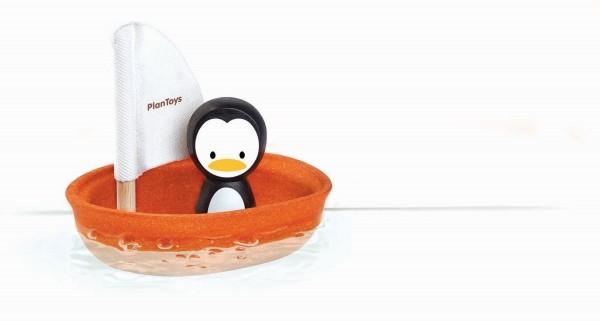 Segelboot Pinguin aus Holz - PlanToys