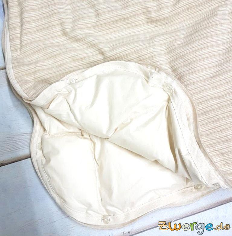 Lotties Schlafsack mit Daunenfutter