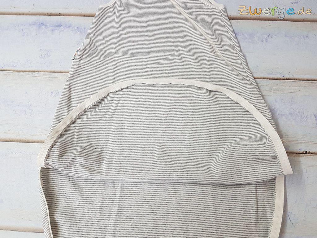 iobio Sommerschlafsack in grau