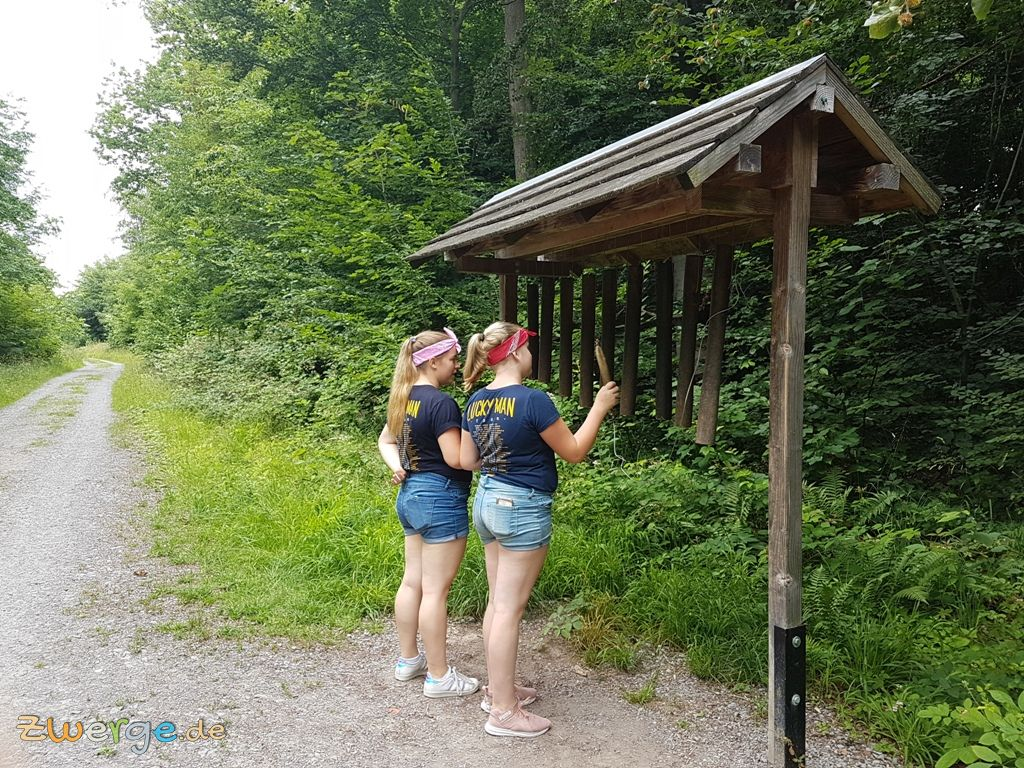 walderlebnispfad heilbronn - Waldxylophon