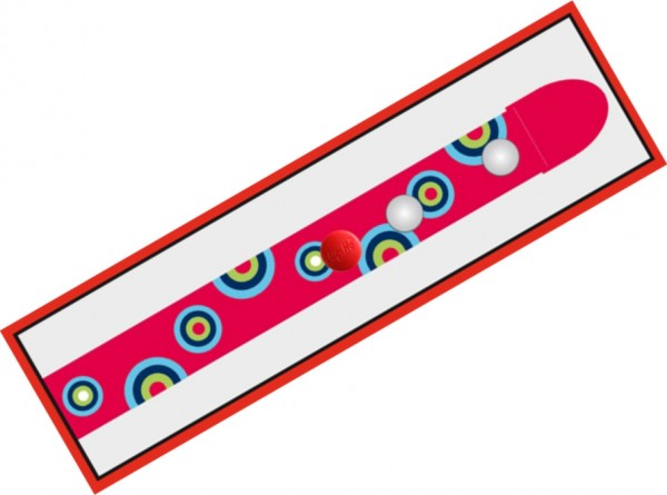 Clip.Ho Kreise rot - der clevere Kindergürtel mit dem Clip
