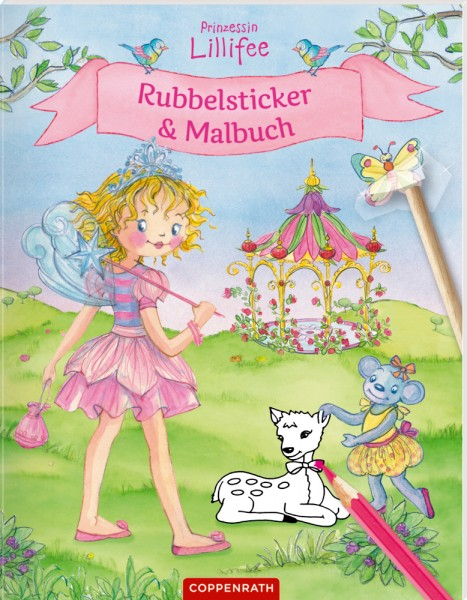 Rubbelsticker Malbuch Prinzessin Lillifee