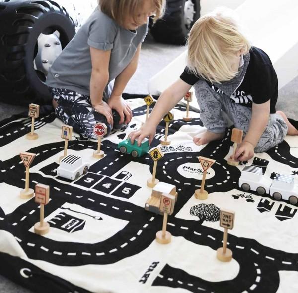 Spielzeugsack Roadmap / Spielstraße - Play & Go